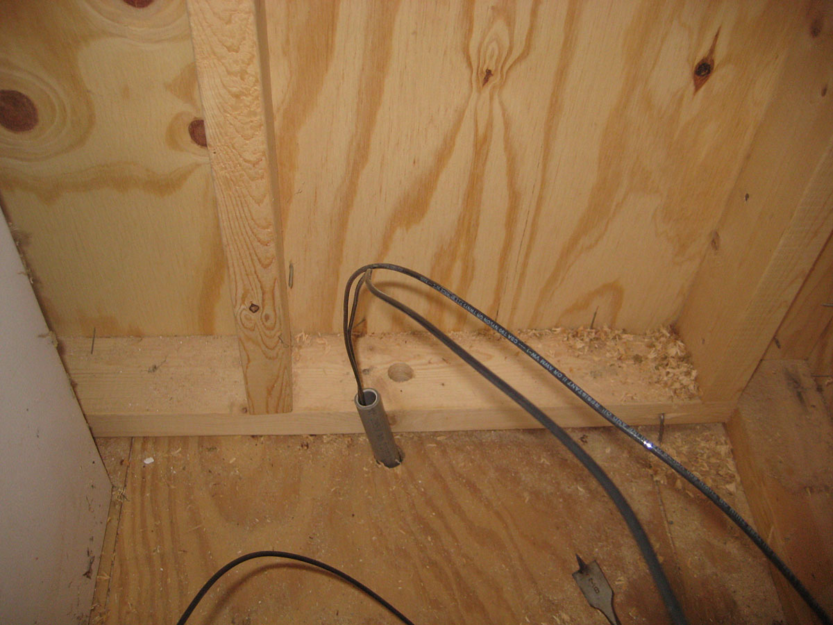 Electrical Wiring From House To Shed